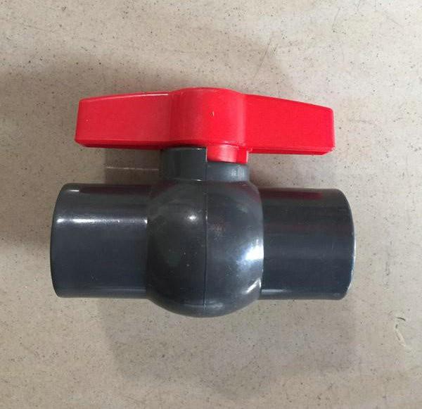 PVC直口球阀